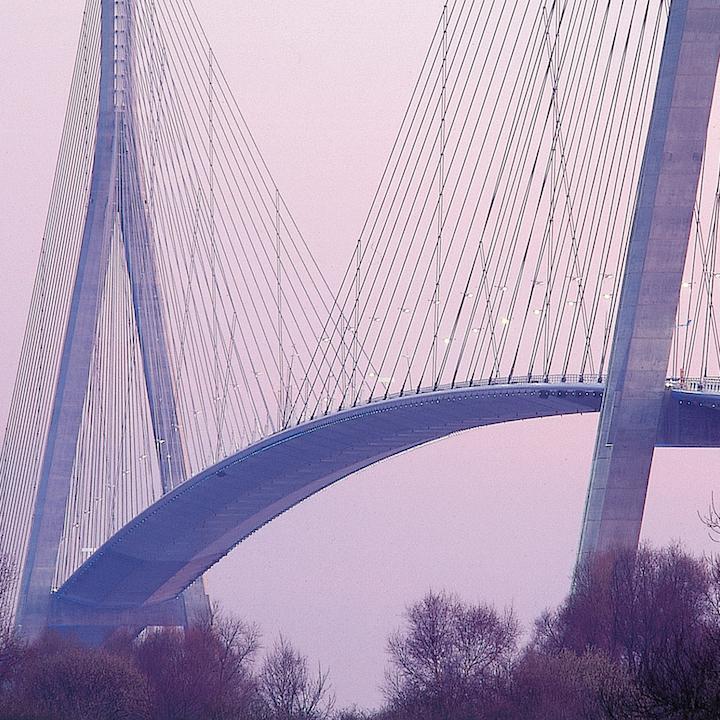construire du pont de normandie